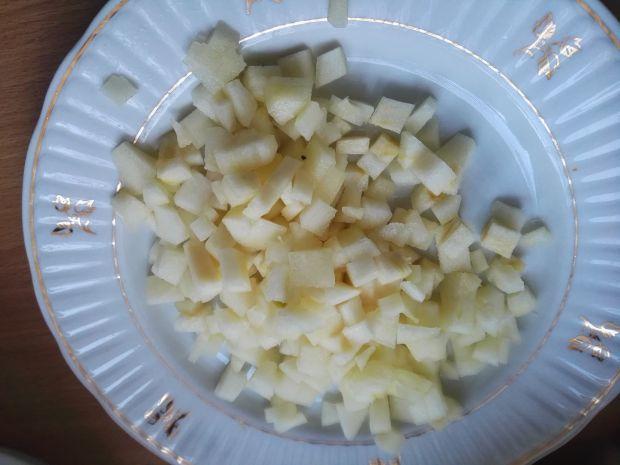 Kacze udka w sosie gruszkowym