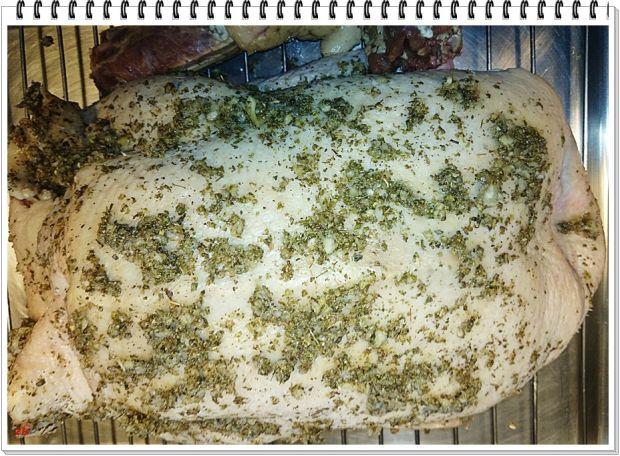 Kaczka Eli faszerowana makaronem z grzybami