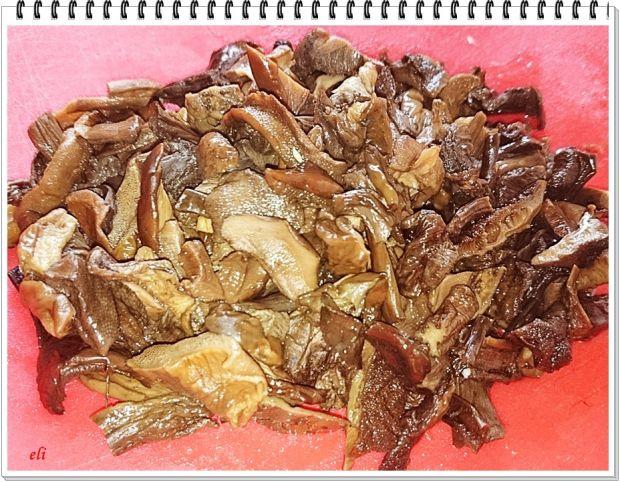 Kaczka Eli faszerowana pęczakiem z grzybami