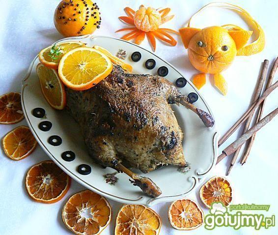 Kaczka w pomarańczach 5
