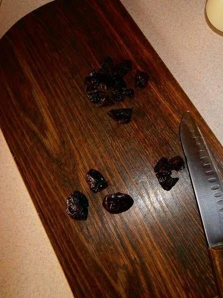 Kakaowa kasza manna ze śliwkową nutką