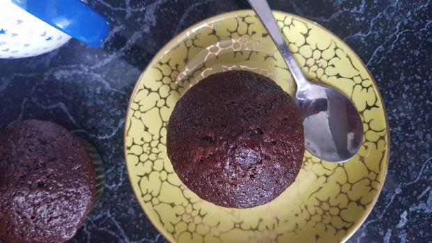 Kakaowe babeczki z dynią