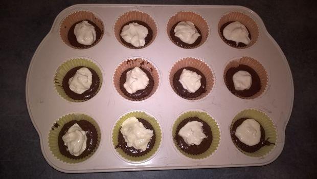 Kakaowe muffinki z kremem mascarpone