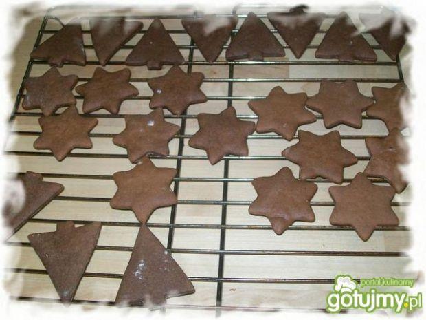 Kakaowe pierniczki na miodzie