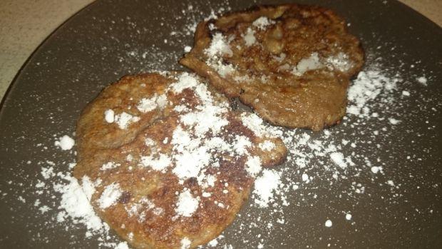 Kakaowe placuszki owsiane z danonkami