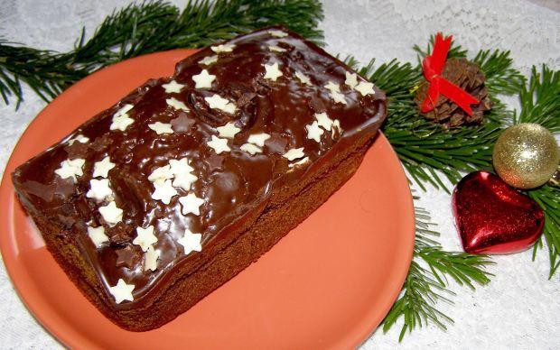 Kakaowe z czekoladą ciasto