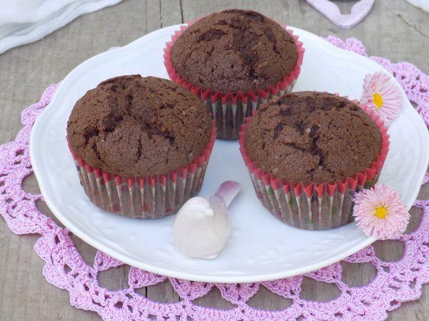 Kakowe muffinki z makiem i kokosem