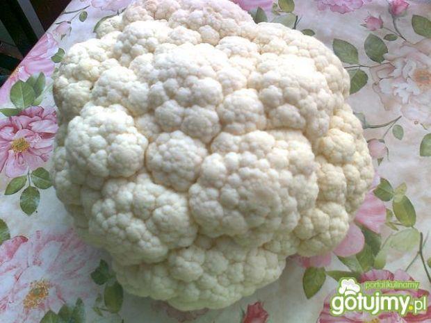 Kalafior w panierce z ziemniakami
