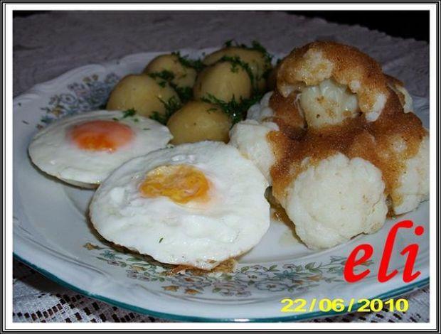 Kalafior z jajkiem Eli
