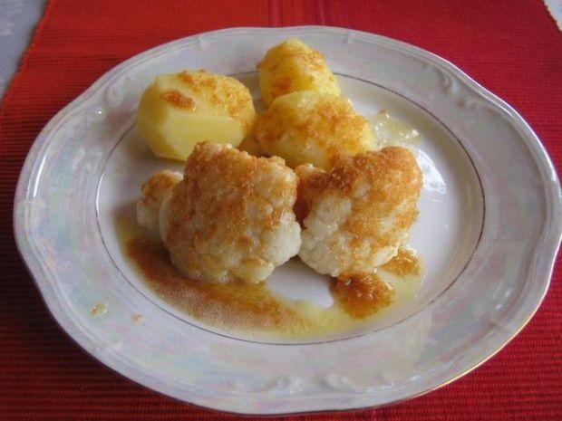 Kalafior z mlodymi ziemniakami