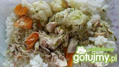 Kalafior z ryżem i mięsem
