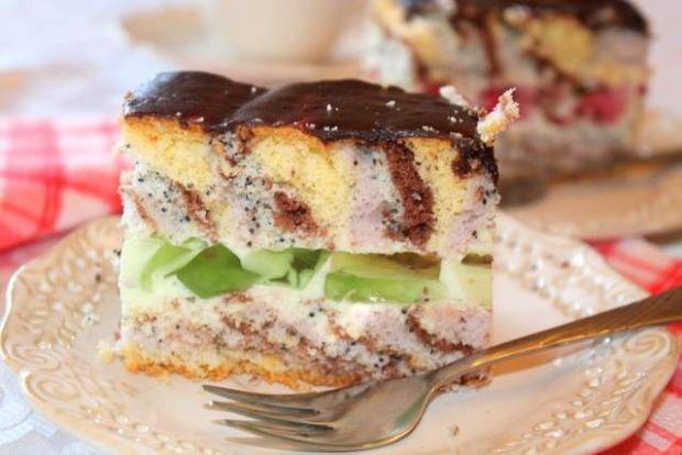 Kalejdoskop- pyszne i lekkie ciasto