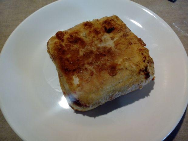 Kanapka tostowa z patelni