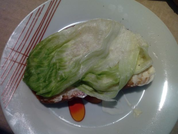 Kanapka z pieczonym kurczakiem