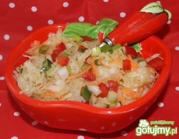 Kapusta kiszona -pikantna surówka