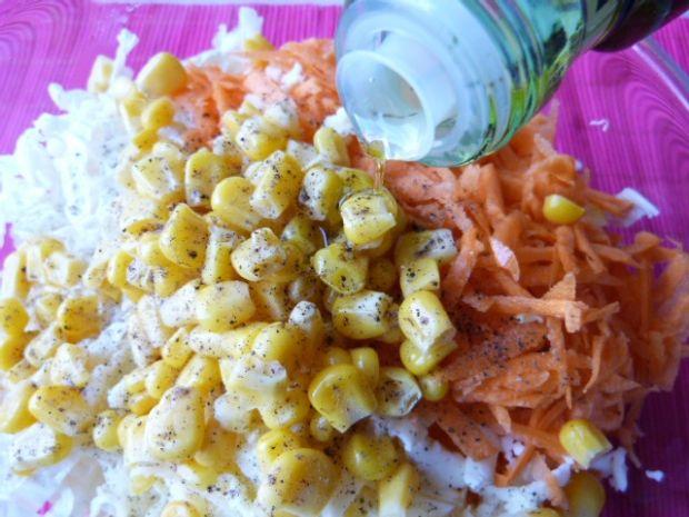 Kapusta pekińska z żółtym serem