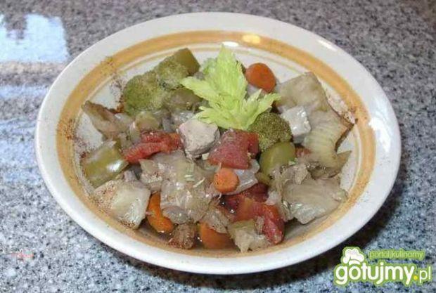 Kapusta z warzywami