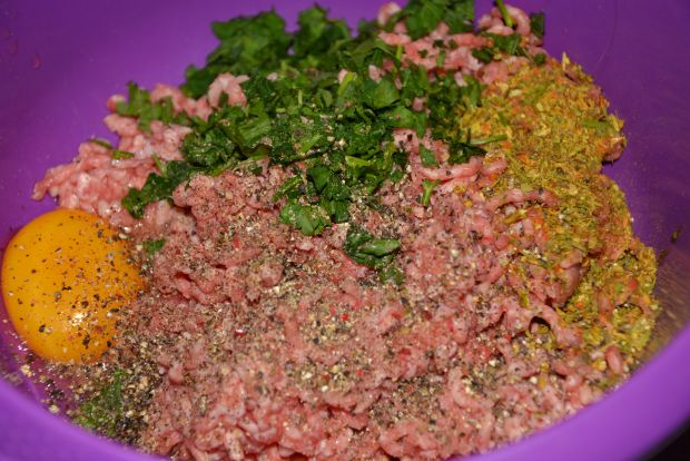 Karafior smażony w mięsnej skorupce