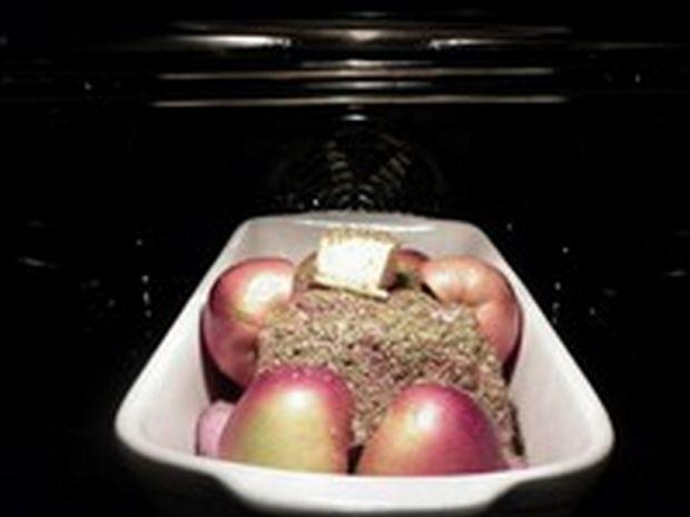 Karczek z jabłkami w marynacie