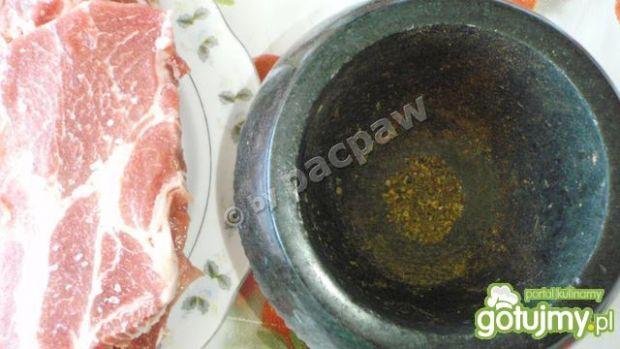 Karkówka grillowana z zielem angielskim