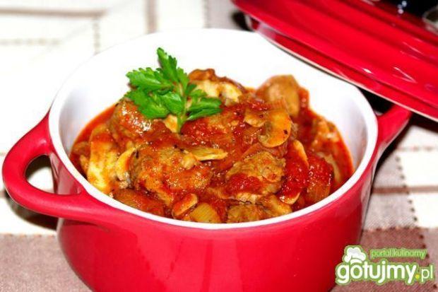Karkówka w pomidorach
