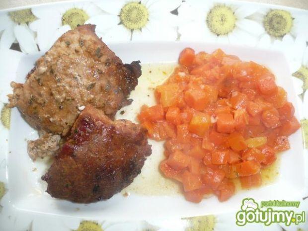 karkówka z marchewką