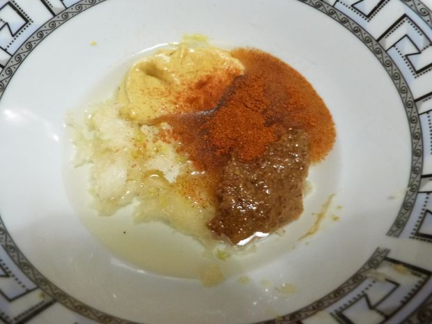 Karkówka z musztardą i pieprzem ziołowym