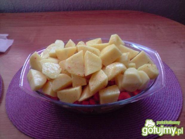 Karkówka zapiekana z ziemniakami miam:)