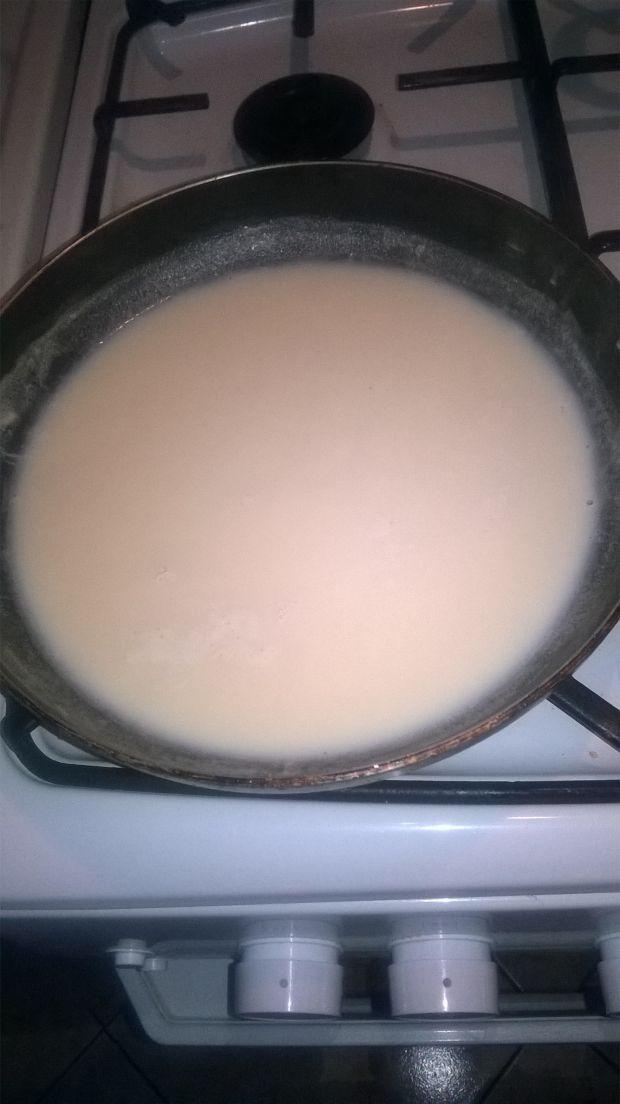 Karmelowa inka z posypką cukierkową