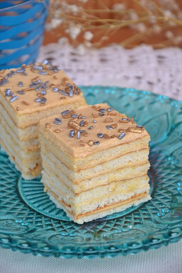 Karmelowe ciasto