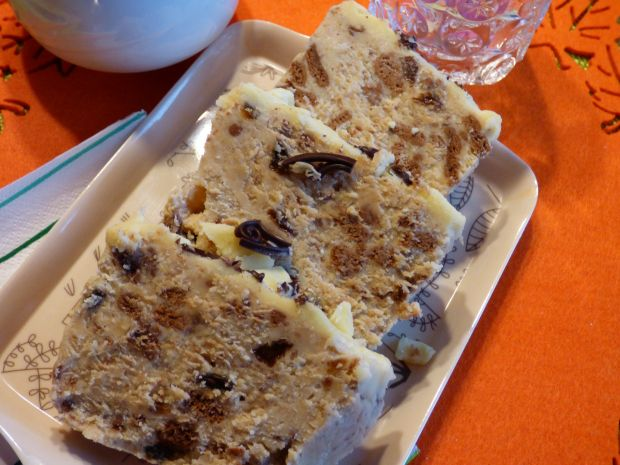 Karmelowy blok czekoladowy