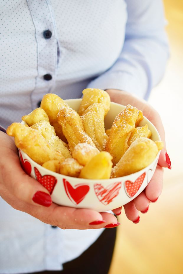 Karnawałowe frytki z jabłek