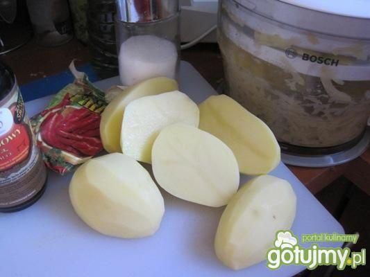 Kartoflane placki na wschodnią nutę