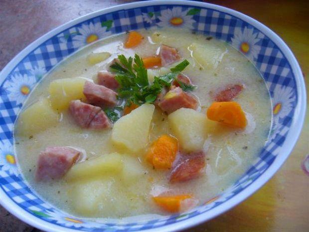 Kartoflanka  czosnkowo - chrzanowa
