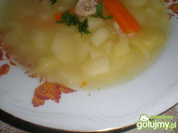Kartoflanka z kaszą manną