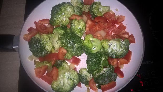 Kasza orkiszowa z warzywami