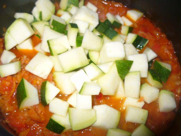 Kasza pęczak z warzywami