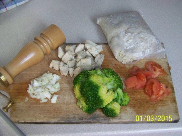 Kasza perłowa z warzywami i kurczakiem na zdrowo