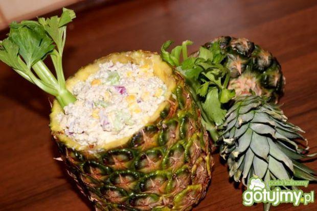 Kasza w ananasie