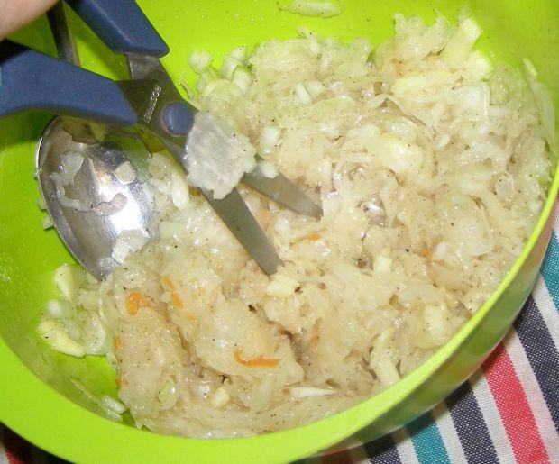 Kaszanka gryczana z cebulą i jabłkiem