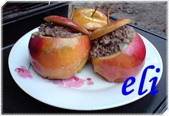 Kaszanka w jabłkach Eli