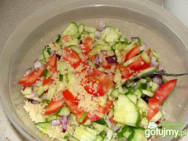 Kaszka kuskus z warzywami