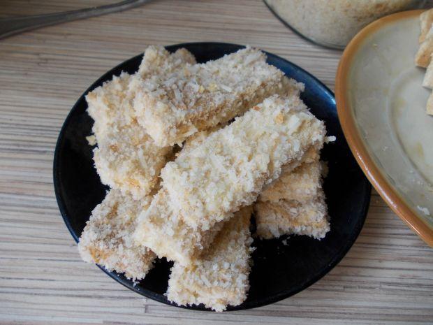 Kaszotto z tofu w parmezanowej panierce