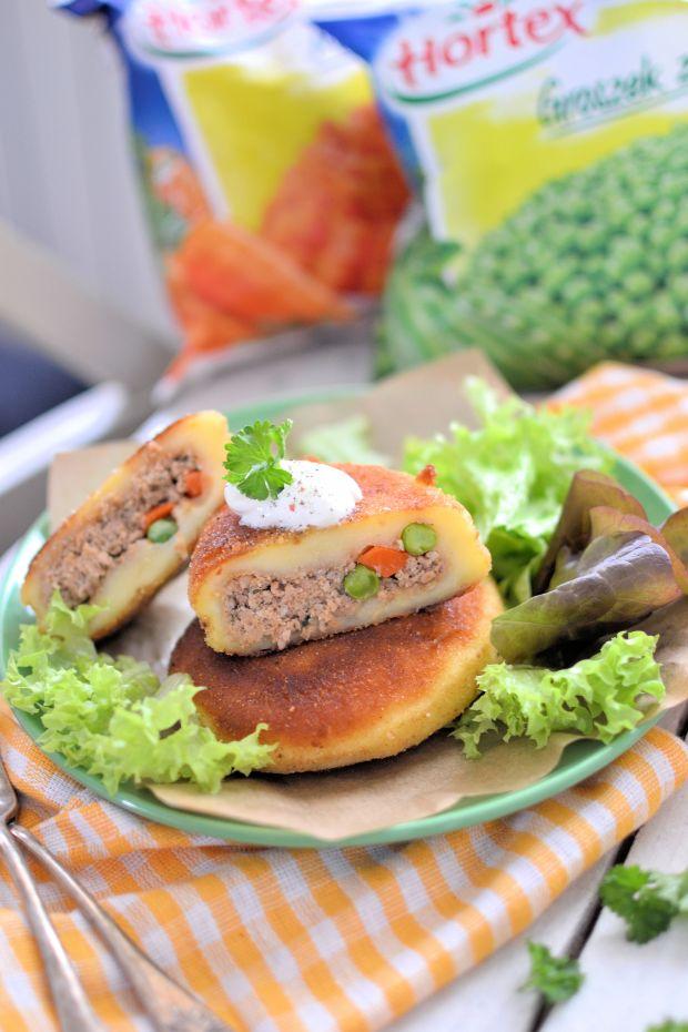 Kaszubskie farszynki z mięsem i warzywa