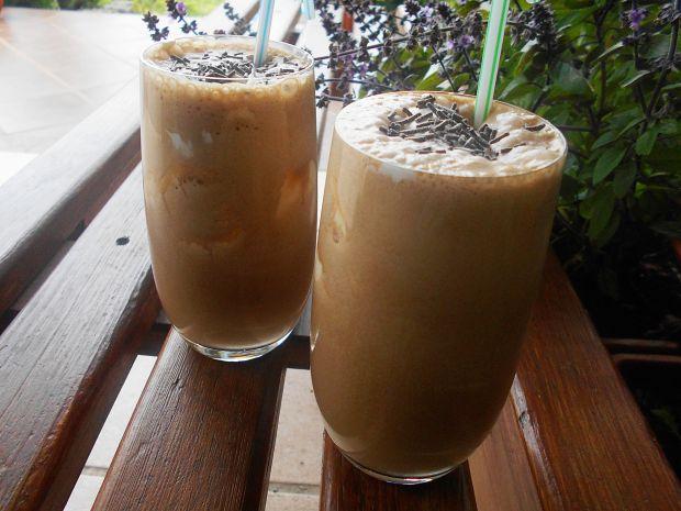Kawa bananowo-czekoladowa