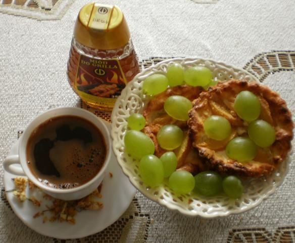 Kawa miodowo-jaśminowa :