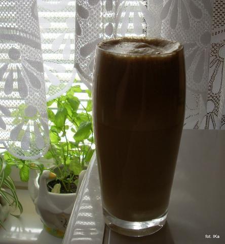 Kawa na zimno, z dużą pianką