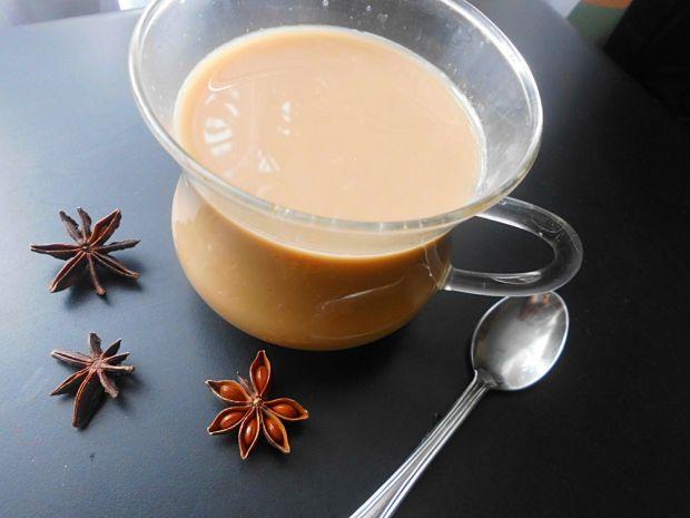 Kawa z aromatyczną przyprawą .
