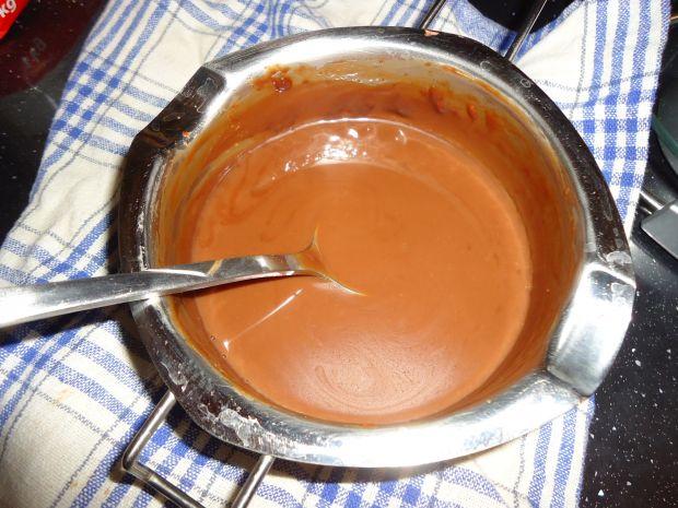 Kawowa panna cotta z musem czekoladowym