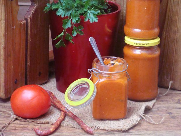 Keczup z pieczonej papryki